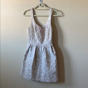 Abercrombie And Fitch metallic dress